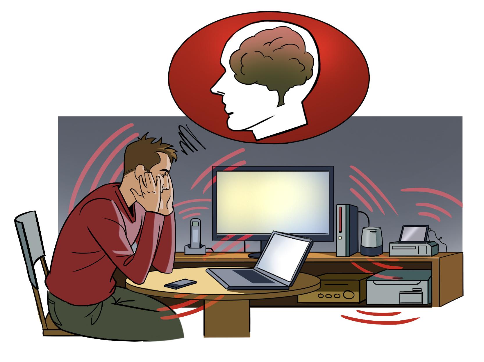 electrosensible symptome